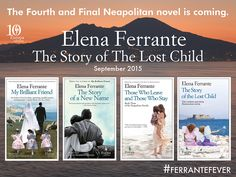 Elena Ferrante Fourth Neapolitan novel