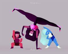 Ruby, Garnet, and Sapphire