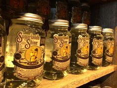 "Sugarlands moonshine captures the spirit of what mountaineers fondly called ""Moonshiner's Paradise."" Visit the Sugarlands Distilling Company on your next trip to the Smokies. #gatlinburg"