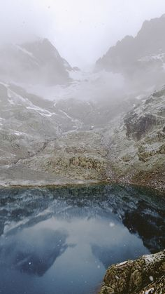 Alex Strohl – The French Alps – #Alps #reflection #mountain #alexstrohl