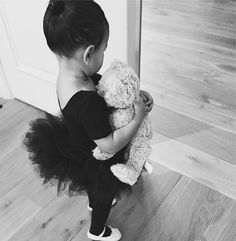 This Photo Of North West Wearing A Little Tutu And Ballet Slippers Proves She's The Cutest Tiny Dancer