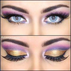 Egyptian goddess eye makeup