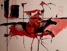 Art of War Ink Painting