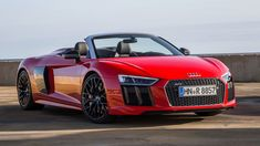 The Audi Plus is an update to the Audi that was debuted in The car features lightweight materials (aluminium and carbon fibre) for construction and is designed and manufactured by Quattro GmbH. The car is available as a coupe and as a spyder. Audi Rs8, New Audi R8, Audi 2017, Audi R8 V10 Plus, Top Sports Cars, Super Sport Cars, Super Cars, Toyota Camry, Toyota Corolla