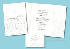 Pearl Vines Wedding Invitation