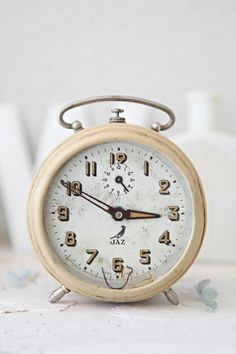 Vintage French Alarm Clock