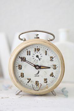 Vintage French Alarm Clock