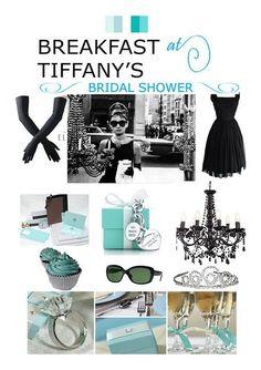 My Eco Wedding in Africa: Breakfast at Tiffany's Bridal Shower Tiffany Blue, Tiffany Theme, Tiffany Party, Audrey Hepburn, Tiffany's Bridal, Blue Bridal, Breakfast At Tiffany's, Dream Wedding, Wedding Day