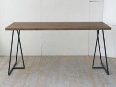 【楽天市場】SUMI DINING TABLE 150【スミダイニングテーブル/ウォールナット/杉山製作所/クロテツ/無垢材/鉄脚/walnut】【cc-wn】【smtb-TK】:esprit lifestyle store