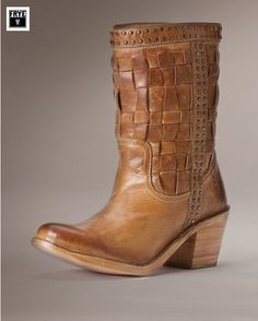 Frye Carmen Woven Short Boot