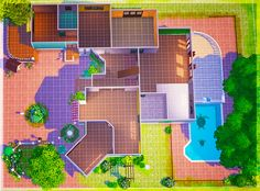 """samtastic-sims: """" The Traditional - There were a few requests to share my legacy mansion house, so here it is, unfurnished :) Lot size: Bed & Bath: 4 bed & 3 bath >Place with MOO on Sims 4 Houses Layout, House Layout Plans, House Layouts, Lotes The Sims 4, Sims Cc, Sims 4 House Plans, Sims 4 House Design, Sims Free Play, Casas The Sims 4"""
