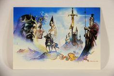 L011019 Boris Vallejo 1992 Card / Excalibur - 1983 - Card #22 / ARTWORK