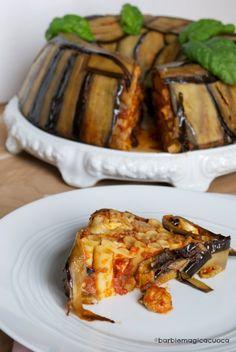 Barbie Magica Cuoca - blog di cucina: Voglia di pasta al forno: timballo di ziti alla siciliana