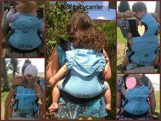 Kibi Babycarrier from baby size until big toddler size Babywearing