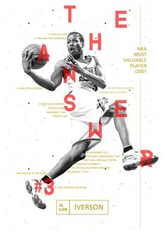 The NBA's Identity Lettering!