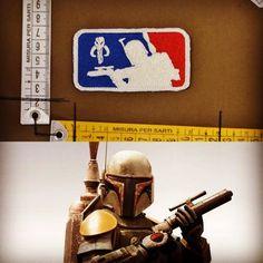 BOBA FEET Star Wars www.lapatcheria.com #lapatcheria #starwars #boba #bobafeet #patch #patches #militarypatches #moralepatch