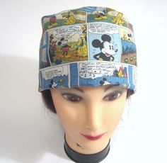 Hey, I found this really awesome Etsy listing at https://www.etsy.com/listing/152398581/classic-comics-retro-scrub-cap