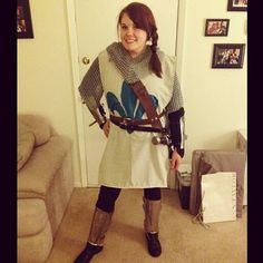 Joan of Arc Halloween Costume