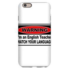 English Teacher iPhone 6 Slim Case