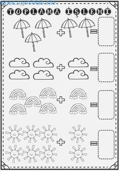 by stephanii - Numbers Preschool, Preschool Printables, Preschool Learning, Teaching Kids, Kindergarten Reading Activities, Kindergarten Math Worksheets, Math Literacy, Addition Worksheets, Math For Kids