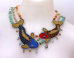 Koi Necklace by Nome May