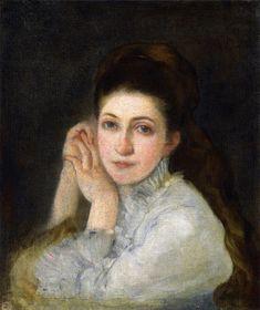 The Athenaeum - Portrait of Louise (Marie Bracquemond - )
