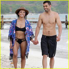 #Kat Graham & Cottrell Guidry Take a Romantic Beach Vacation to Jamaica! --- More News at : http://RepinCeleb.com  #celebnews #repinceleb