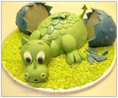 Super cute cake idea!! ;3 Maybe for a baby boy's birthday party. So cute!!! ;3 <333