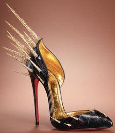 efdff2ebf7f8 Christian Louboutin s new heels are a sharp fashion choice. Shoes Heels  Boots