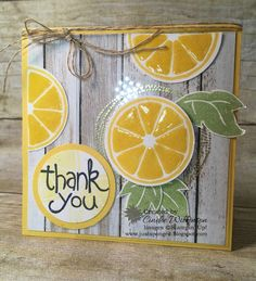 Just Sponge It: Apple of My Eye, Apple of my Eye stamp set, Farmers Market Designer Series Paper, Crystal Effects, Memories in the Making, Project Life cards, Scallop Tag Topper Punch, Thank You Cards, DIY, Stampin' Up!