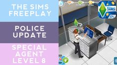 The Sims Freeplay Police Update Special Agent Level 8 [Early Access]
