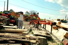 Obróbka drewna w mobilnym tartaku Firewood, Crafts, Woodburning, Manualidades, Handmade Crafts, Craft, Arts And Crafts, Artesanato, Handicraft