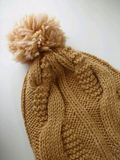 Ravelry: Project Gallery for Cable Fusion Toque Hat (garter) pattern by Asia Spence - free knitting pattern