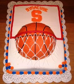 basketball cake | ... basketball cakes, assembled by yours truly for your viewing pleasure