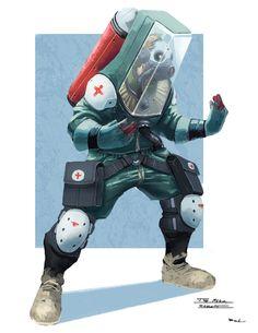 The Medic by Colorbind.deviantart.com on @DeviantArt