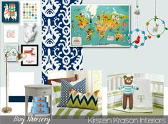6th Street Design School: An E-Design Nursery Board