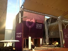 Wine Pavillion at Milan EXPO 2015 - near the Tree of Life