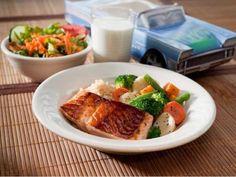 Silver Diner- Kids Salmon