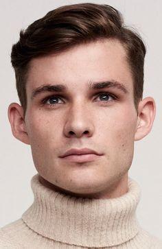 Men's Hairstyles Side Sweep Hair. Photo: Percival. #menshairstyles #menshair #shorthair