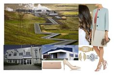 """""""Royal Tour of Iceland: Day 1- Having a meeting with German and Icelandic companies and  visiting the Hellisheiði Geothermal Power Station and the company Össur"""" by crownprincesselizabeth ❤ liked on Polyvore featuring Jennifer Meyer Jewelry, Michele, Chloé, L.K.Bennett, Prada and country"""
