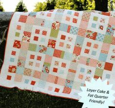 "Pattern Name: City Blocks Designer: Sweet Jane's Quilting and Design Finished Sizes: baby quilt size (39"" x 39"") or lap quilt size (68"" x 68""). Paper or PDF: pa"
