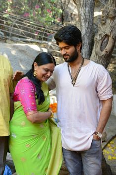 VD with his Mom