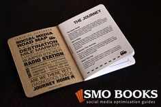 Creating a social media strategy is a journey. Order the Social Media Road Map (2nd Edition) at http://smobooks.com