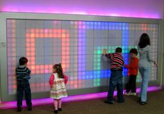 Giant Interactive LED Wall: Supersized LiteBrite | Craziest Gadgets