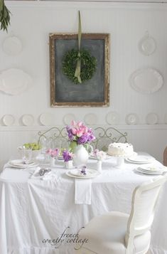 FRENCH COUNTRY COTTAGE: 3 ways to brighten a room in Winter