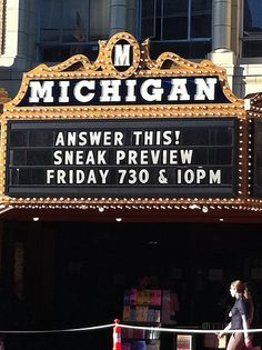 Another movie that was filmed in Ann Arbor