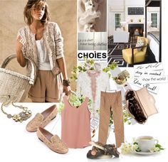 """""""Soft nude"""" by laonela ❤ liked on Polyvore"""