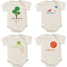green baby clothing