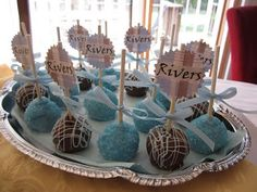 { Life's Simplicity }: Baby Shower and Cake Pops