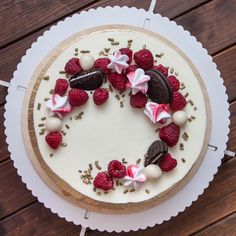 Simple healthy dinner recipes for kids ideas christmas decorations Decoration Patisserie, Dessert Decoration, Cheesecake Decoration, Sweet Recipes, Cake Recipes, Dessert Recipes, Dinner Recipes, Cupcake Cakes, Cake Cookies